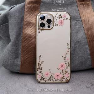 """Ốp lưng iPhone 12 Pro 6,1"""" - Ốp hoa văn Hongkong"""